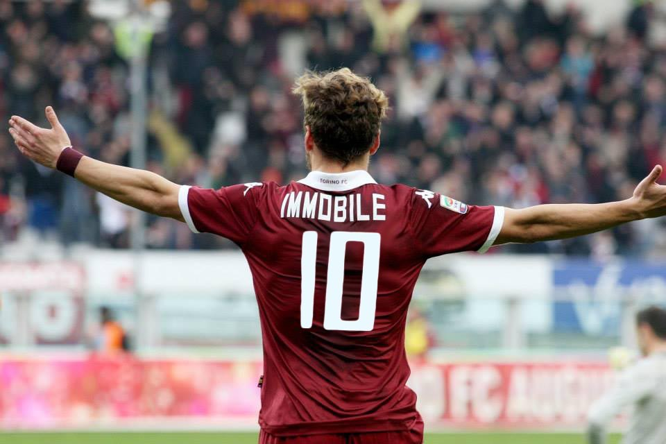 Immobile won the Capocanoniere in 2014 after his 22 goal output for Torino.